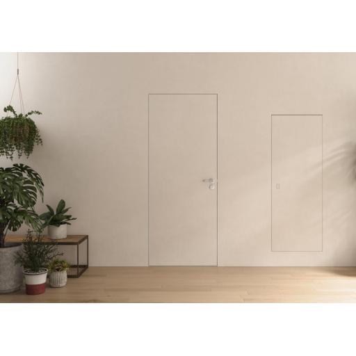 Flush Hinged Door Frame