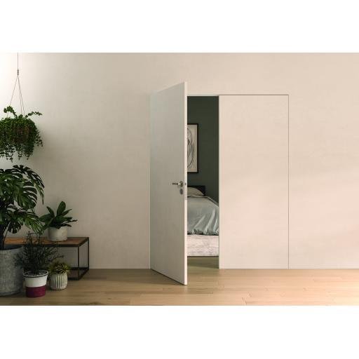 Double Flush Hinged Door Frame